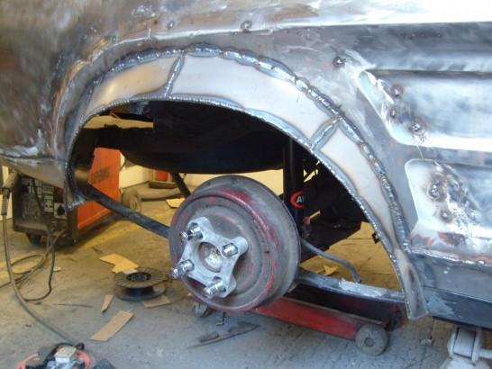 Black Capri Mk1 Cosworth Yb Andys Auto Body