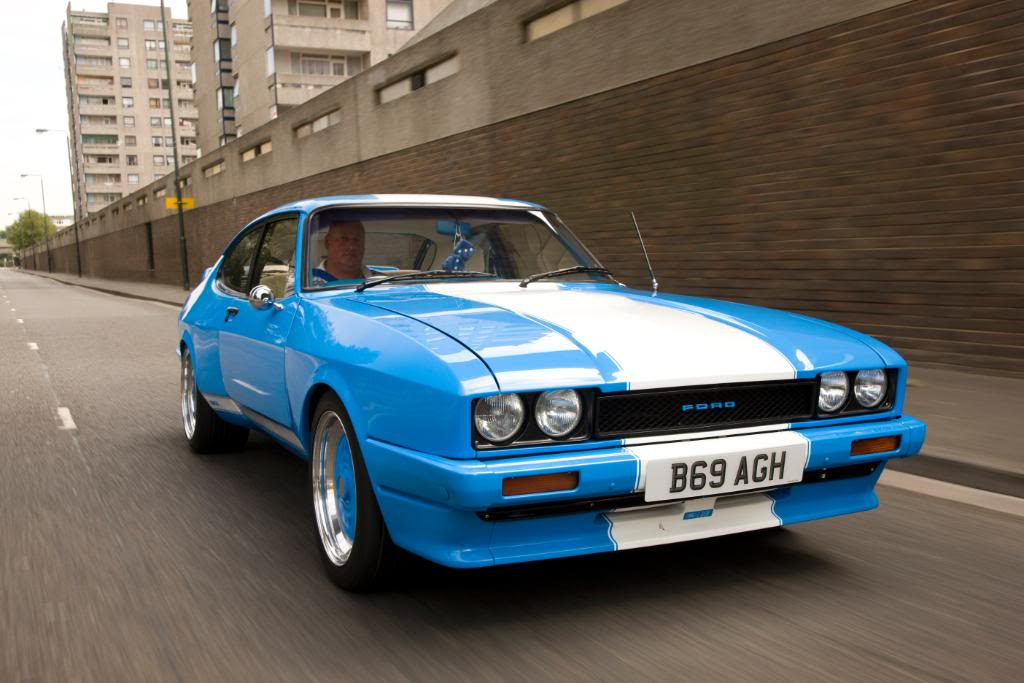 Blue X Pack Capri Mk3 Andys Auto Body