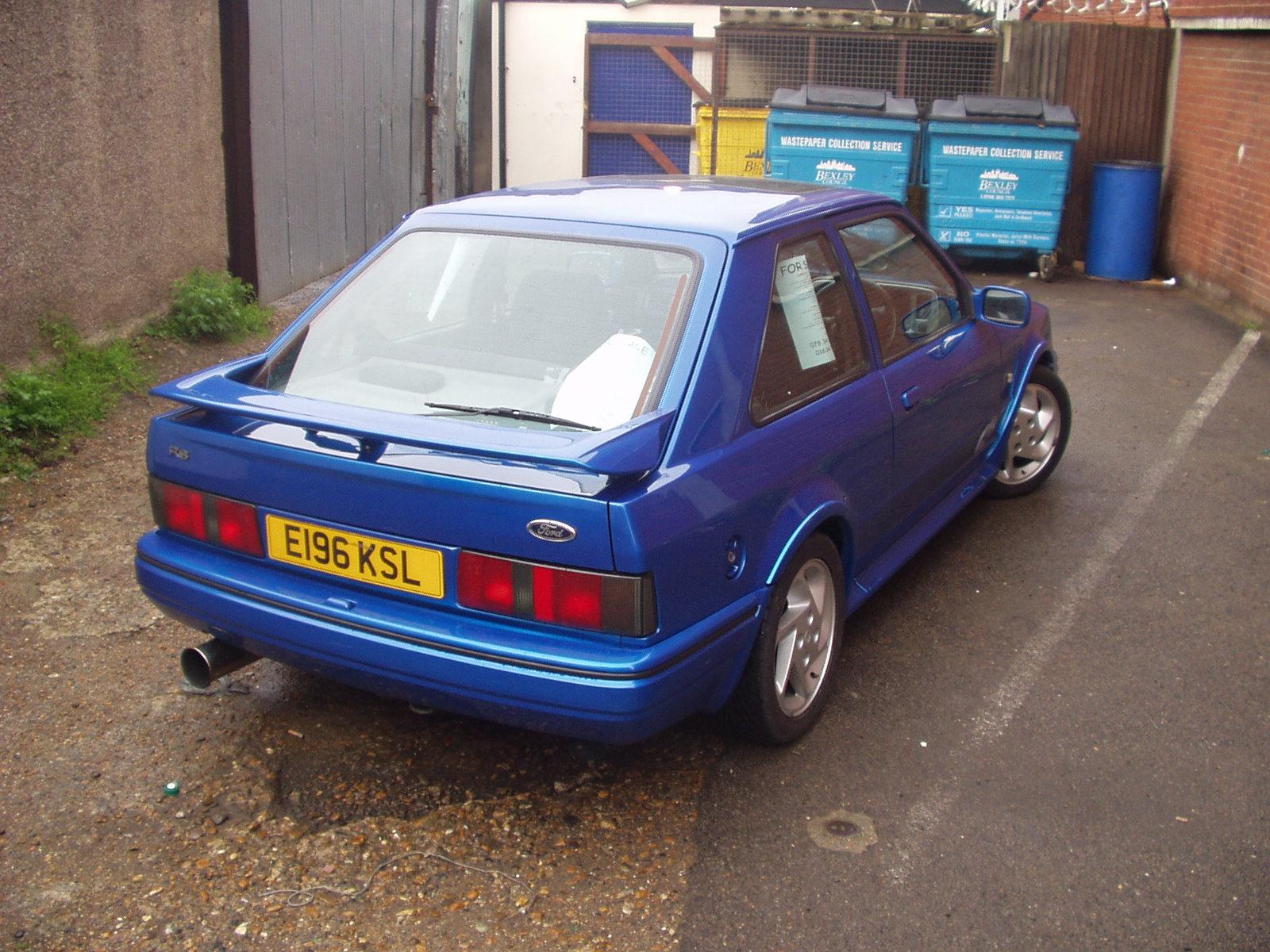 blue rear
