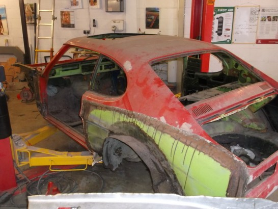 Mk 1 Capri X Pack Current Restoration Andys Auto Body